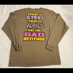 Vtg Bad Boy Club long sleeve t shirt size XL